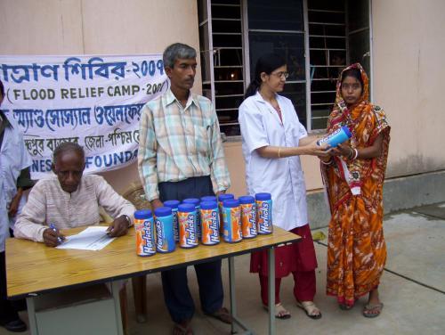 baby food distribution