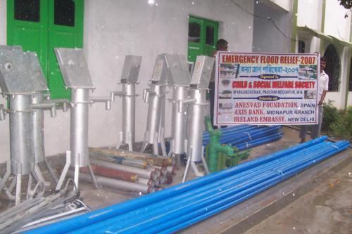 resinking tube wells